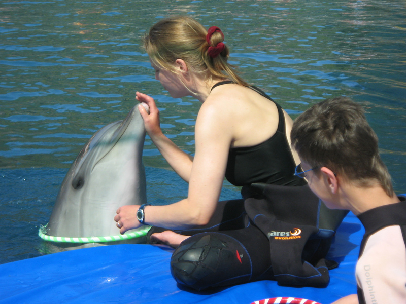 Dolphin Therapy Family Pircher