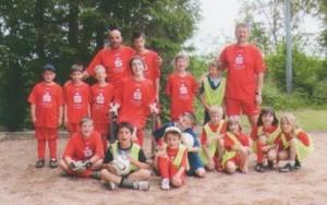Integrativfußball behinderter und nichtbehinderter Kinder beim FC 1929 Walhausen