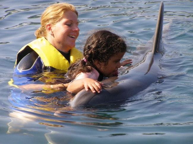 "The mother is certain: ""The sonic waves of the dolphins loosened the blockade in Dilsah's brain."""