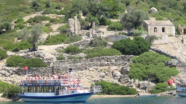 Поездка на лодке в Мармарисе