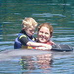 Verbesserungen durch Delfintherapie bei Johannes