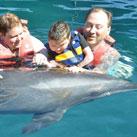 Tolle Fortschritte durch Delphintherapie bei Emily