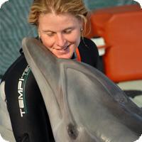 Delfintherapeuting Barbara Dietrich