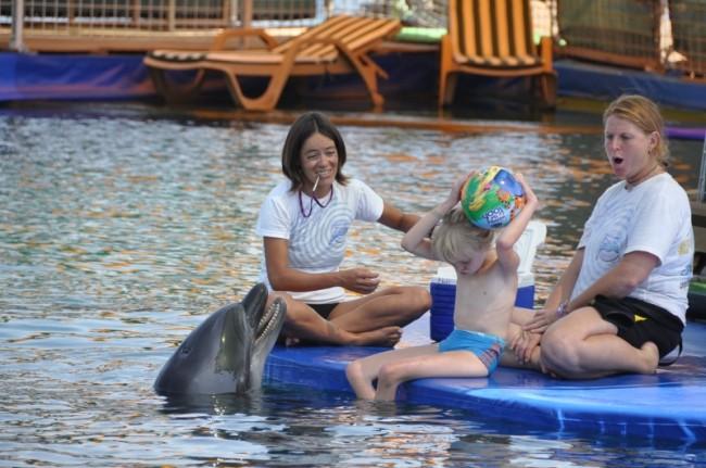 Delfintherapie von Victoria 2011