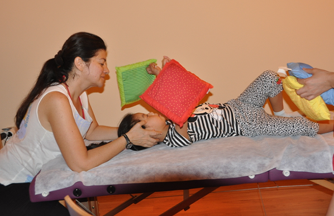 Cranio Sacraal Therapie at dolphintherapycentre in Marmaris
