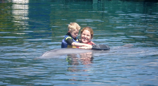 Johannes Dolphin Therapy in Marmaris 2014