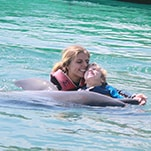 Dolphin therapy improved Elena's motor function